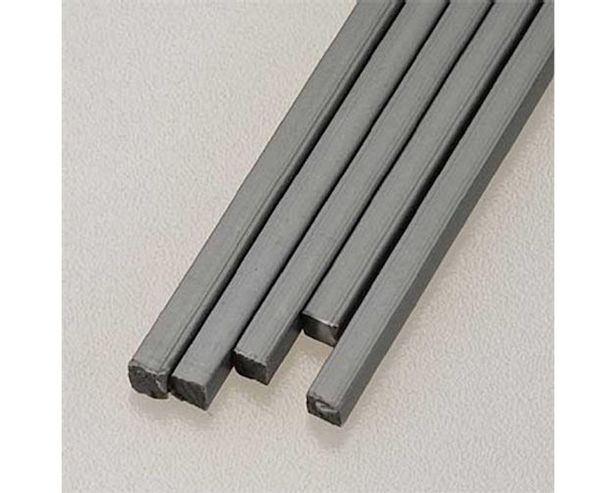 "90351 Square Rod ABS 1/8"" (5) by Plastruct"