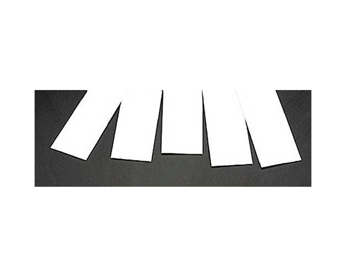 .030 x 1-1/4 Gray Strip Stock (4) by Plastruct