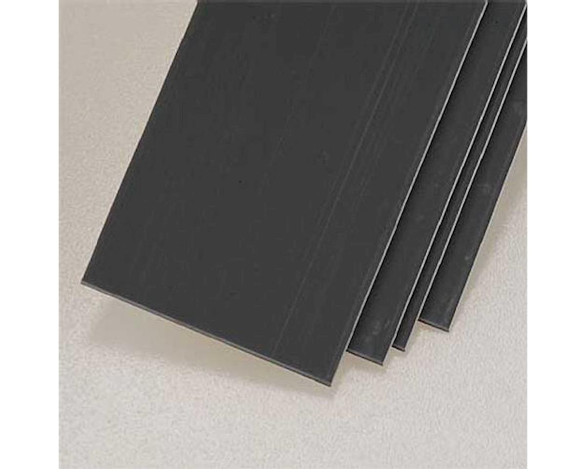 "Plastruct 90366 Strip Stock ABS Dark Gray .030"" (4)"