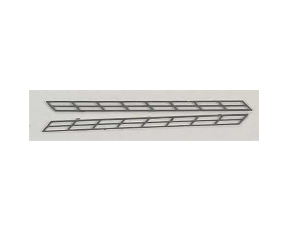 "SR-2 N Stair Rail,3/32"" (2) by Plastruct"