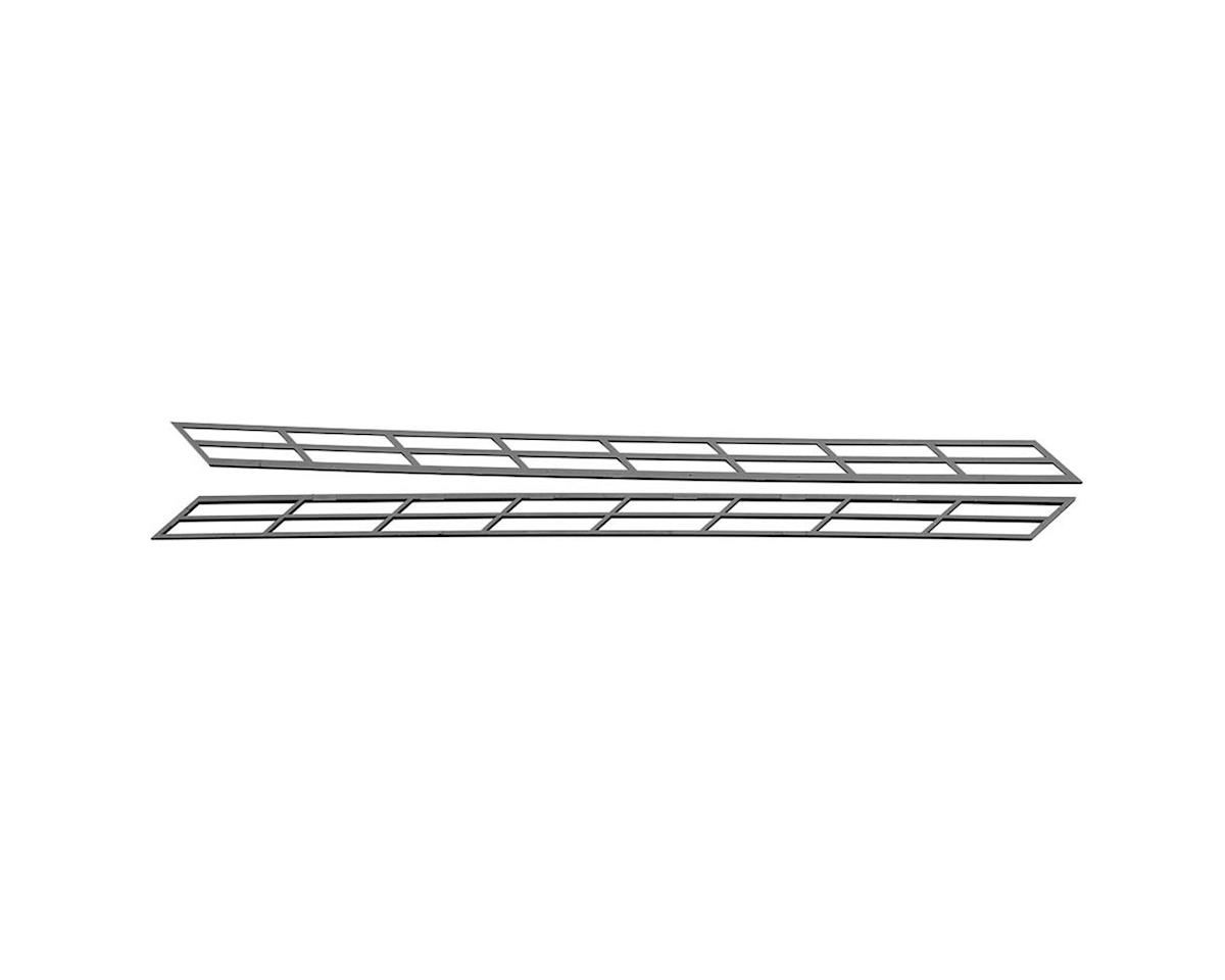 "Plastruct SR-4 HO Stair Rail,3/16"" (2)"