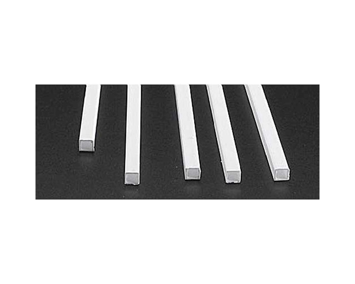 "Plastruct STFS-8 Square Tubing,1/4"" (5)"