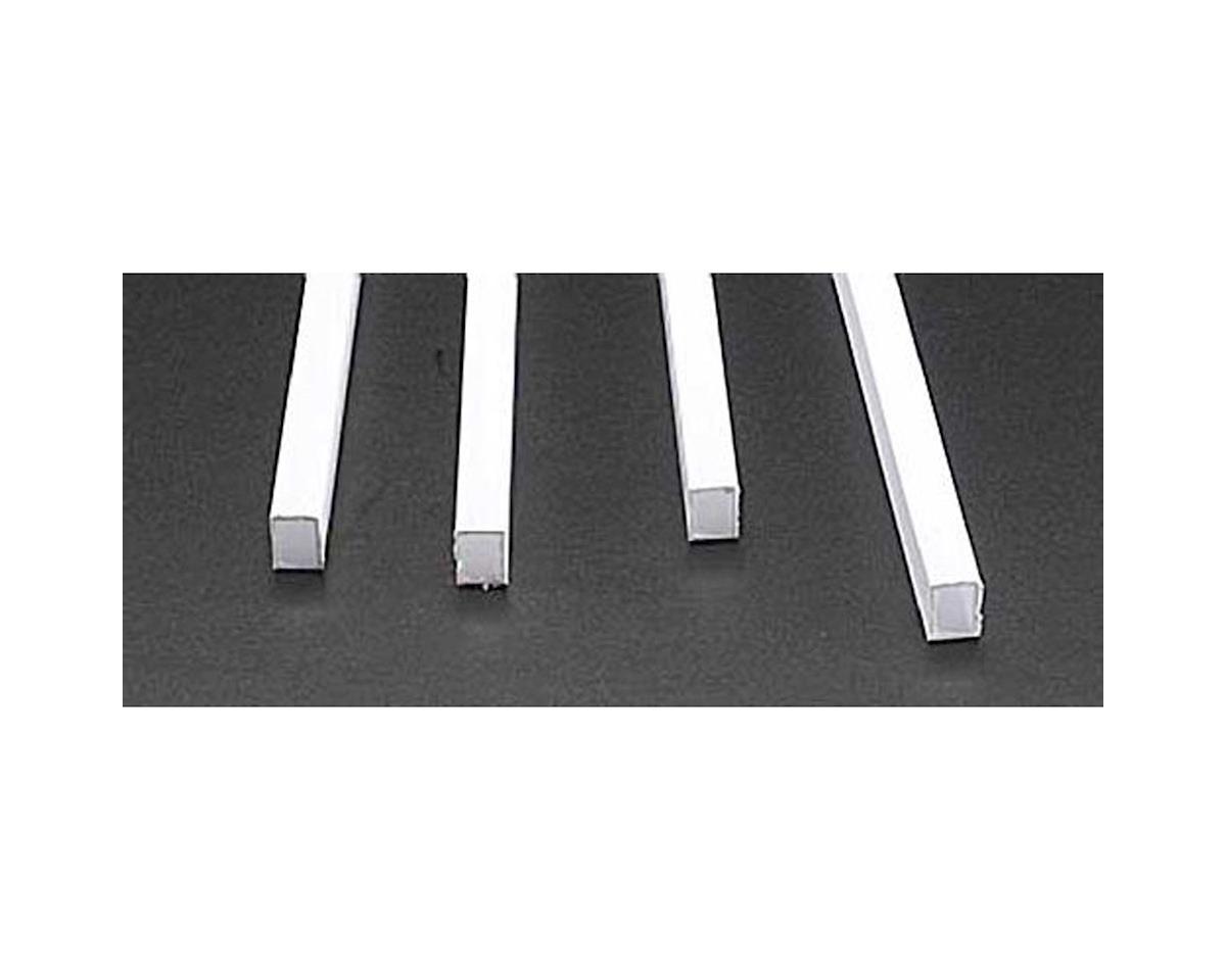 """Plastruct RTFS-12 Rect Tubing,3/8"""" (4)"""