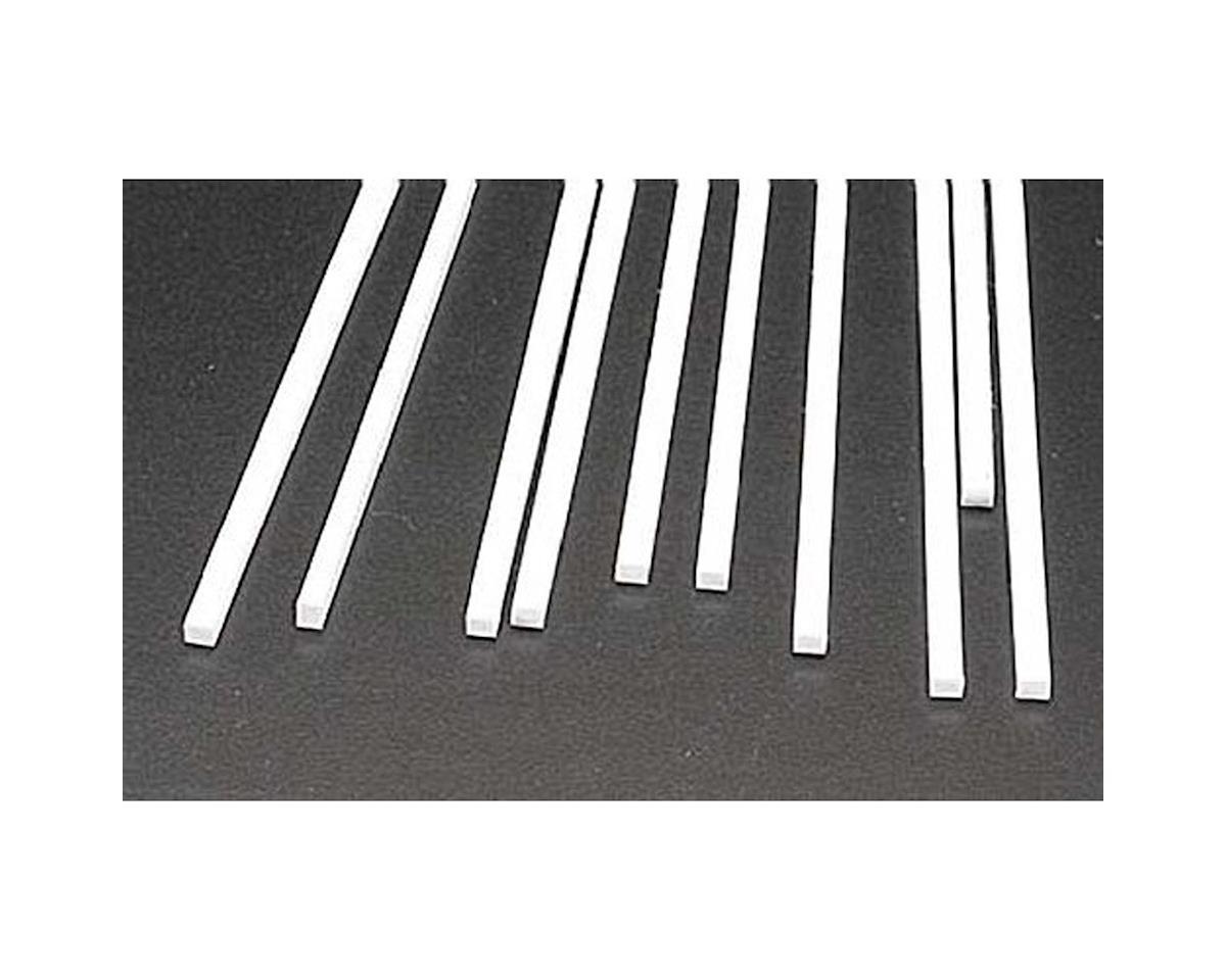 MS-1012 Rect Strip,.100x.125(10) by Plastruct