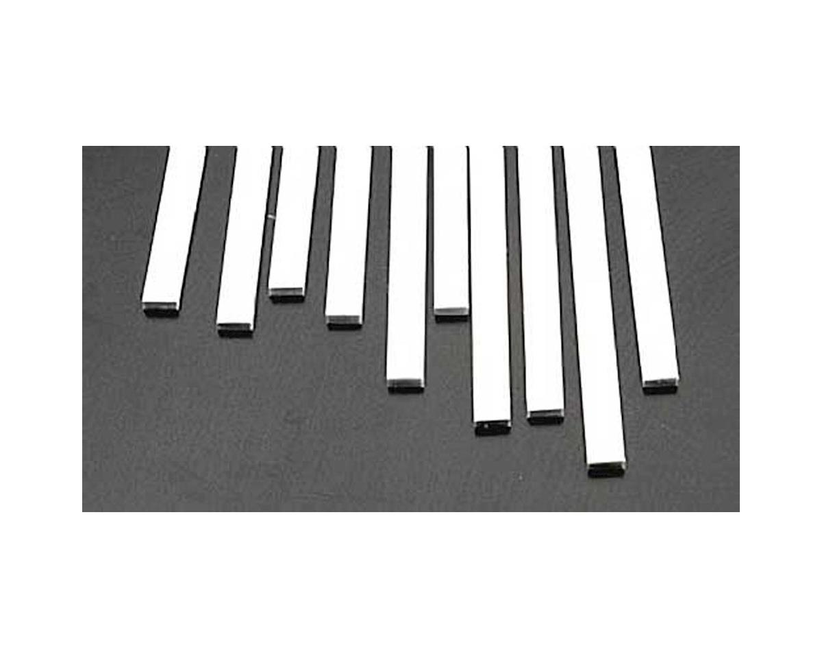 MS-1025 Rect Strip,.100x.250(10) by Plastruct