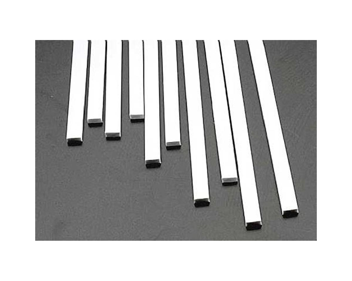 MS-1225 Rect Strip,.125x.250(10) by Plastruct