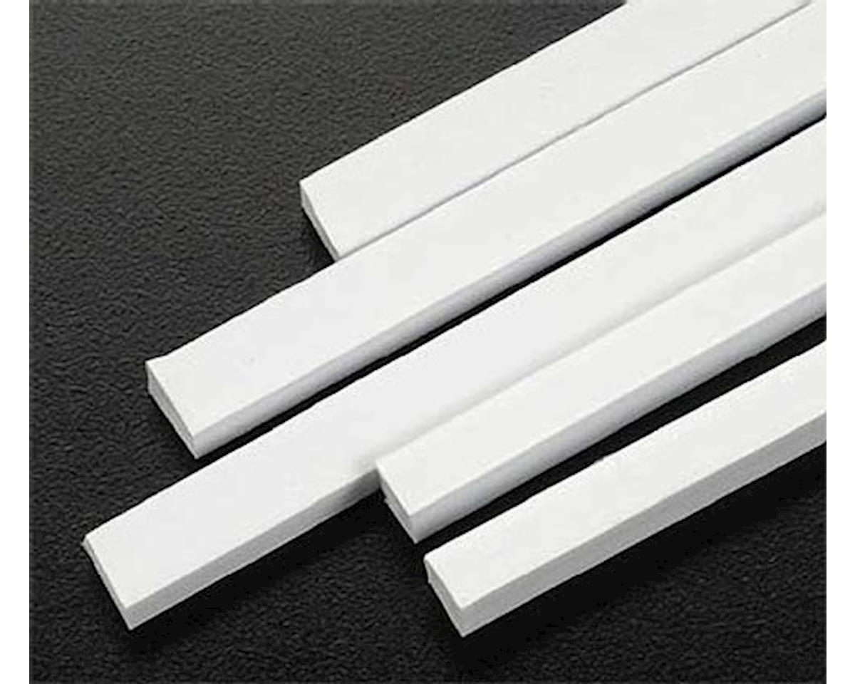 Plastruct 3/16 x 1/4 Rectangular Rods Styrene (5)