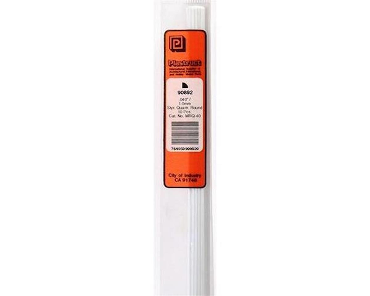 Plastruct MRQ-40 Qtr-Round Rod,.040(10)