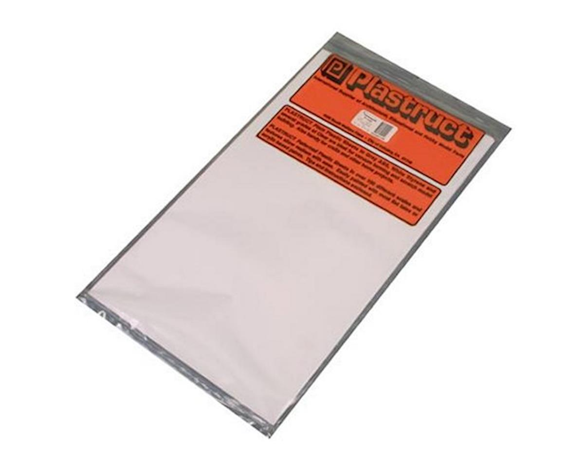 SSS-110 White Styrene,.100(2) by Plastruct