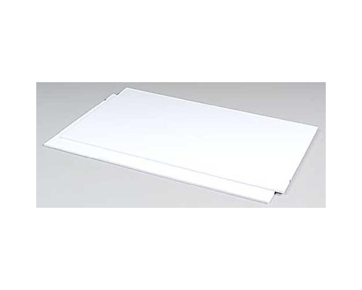 Plastruct SSS-125 White Styrene,.125(2)