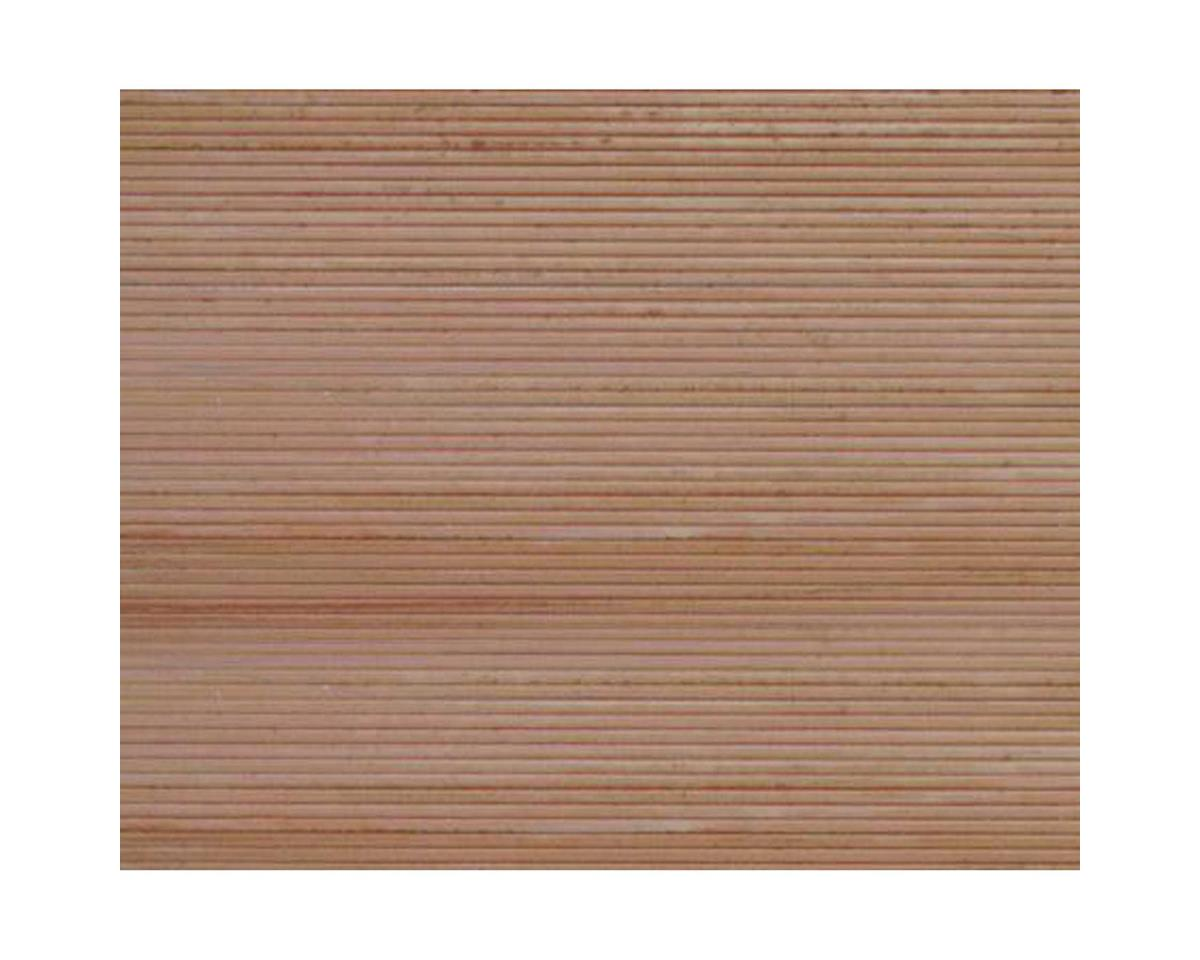 "Plastruct PS-33 Wood Planking, 1/4"" Beige (2)"