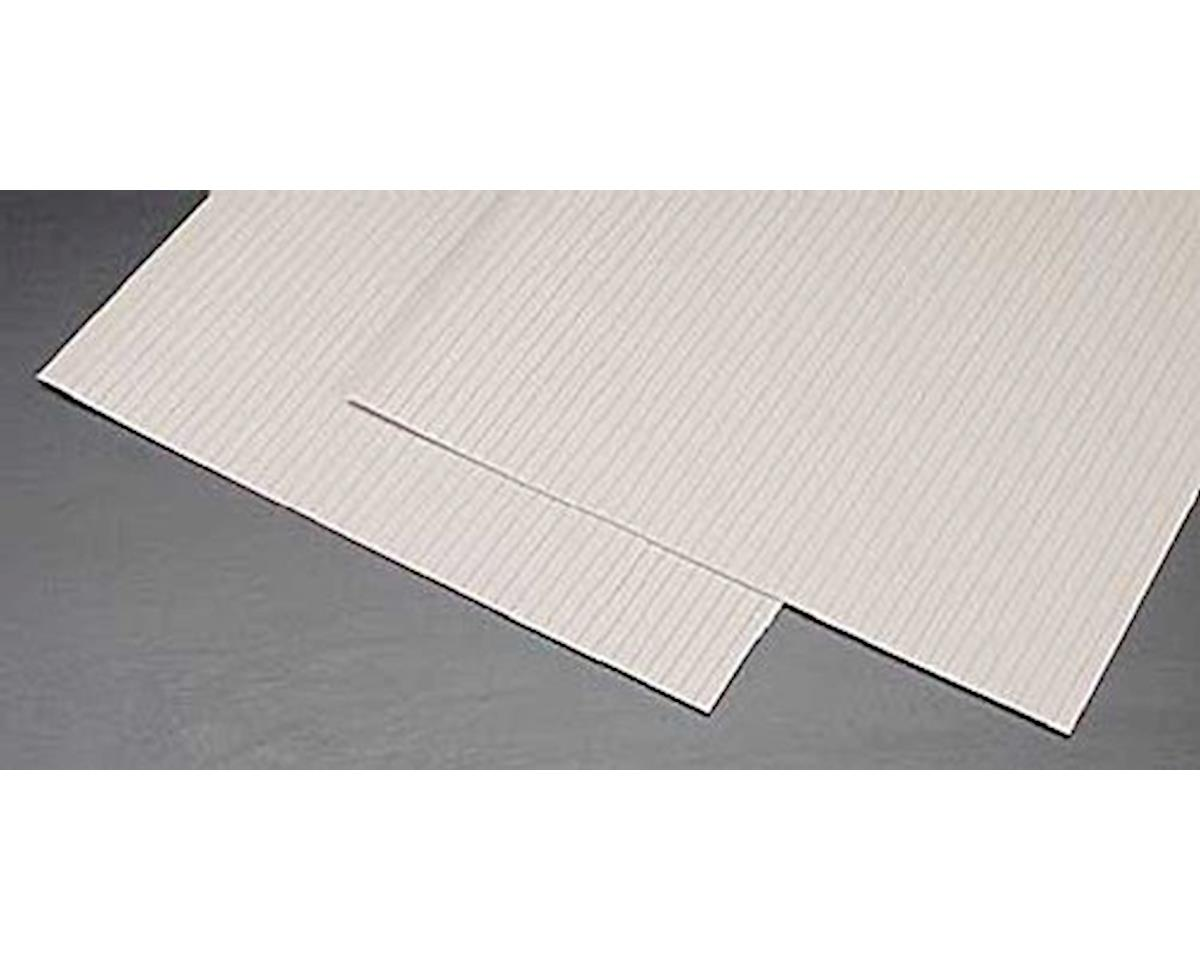 Plastruct 5/32 Wood Planking Plastic Pattern Sheet (2)