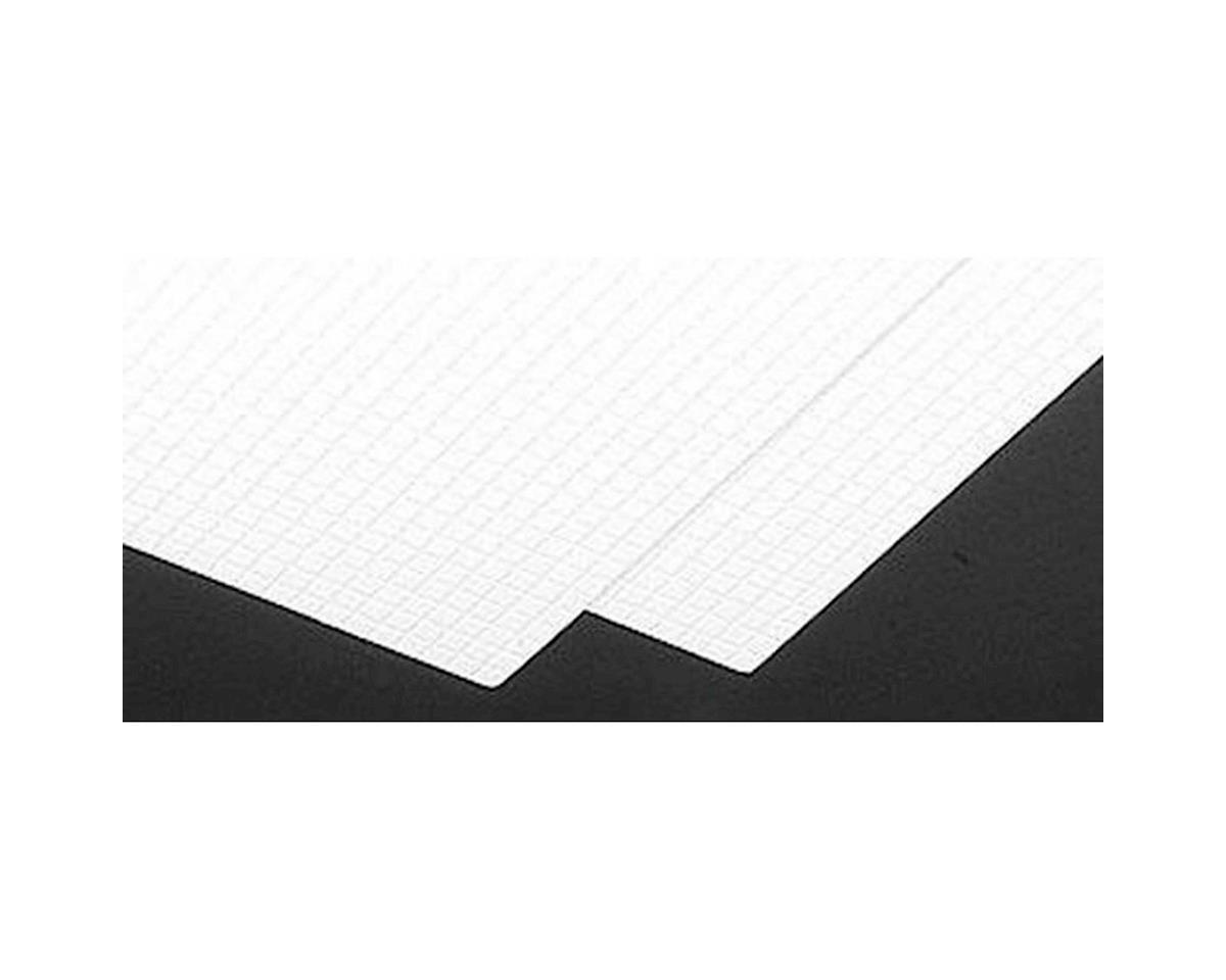 """Plastruct PS-44 Square Tile Sheet, 15/64"""" (2)"""