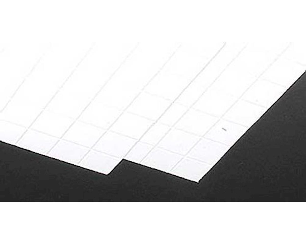 Plastruct 1 White Square Tile Plastic Pattern Sheet 2