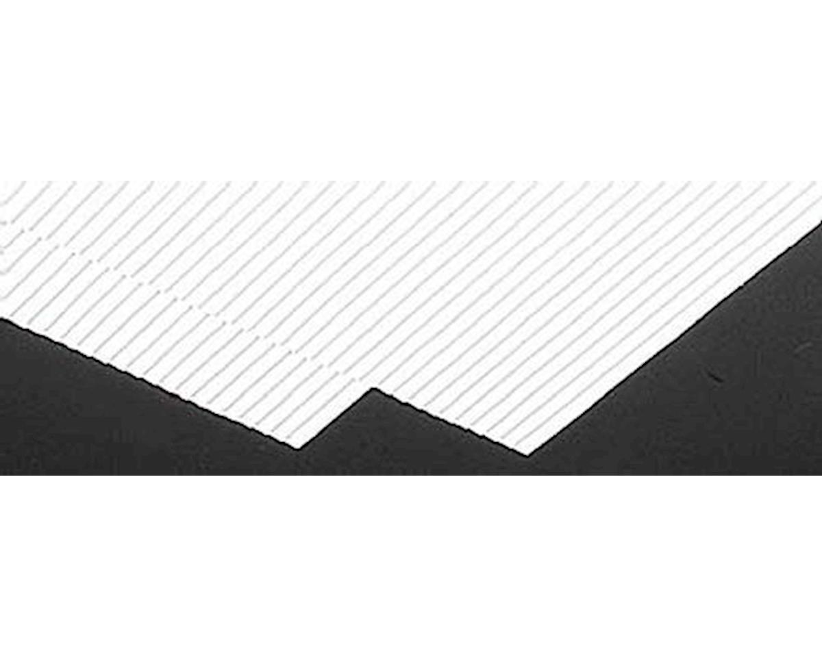 3/16 Clapboard Siding Plastic Pattern Sheet 2Pc by Plastruct