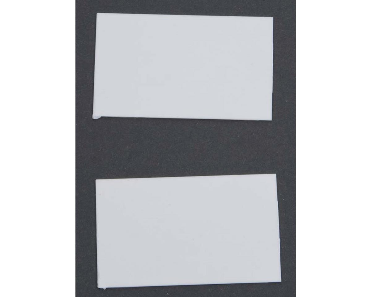 Z Tread Plate Plastic Pattern Sheet 2Pc by Plastruct