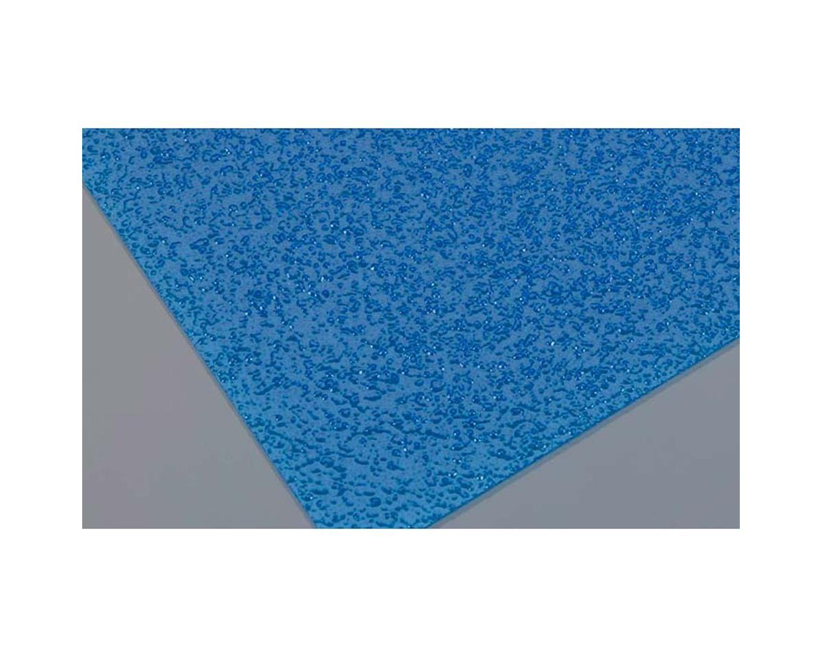 "Agitated Blue Water WPSB-308 (6"" X 9"") by Plastruct"