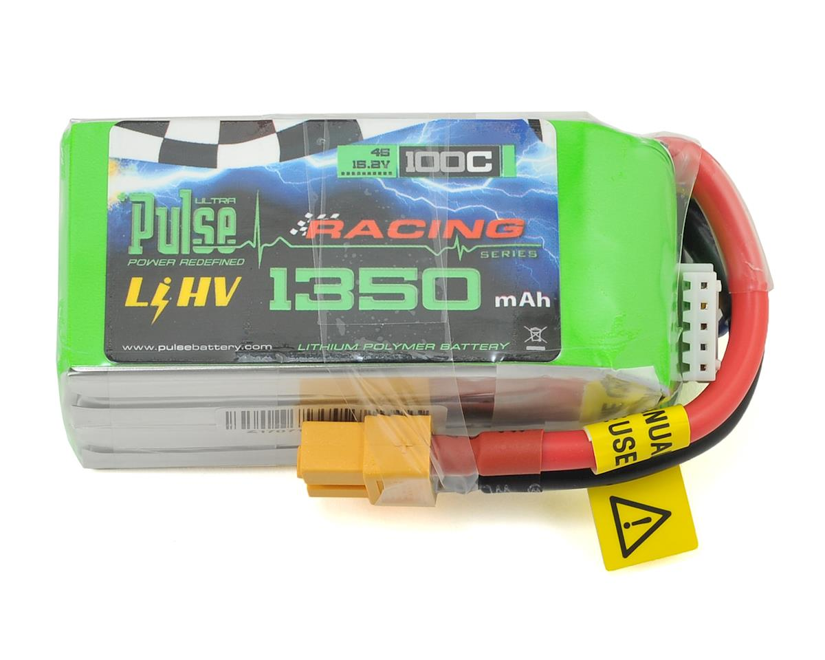 """Extreme"" High Voltage 4S LiPo Battery 100C (15.2V/1350mAh) (JST-XH) by PULSE"