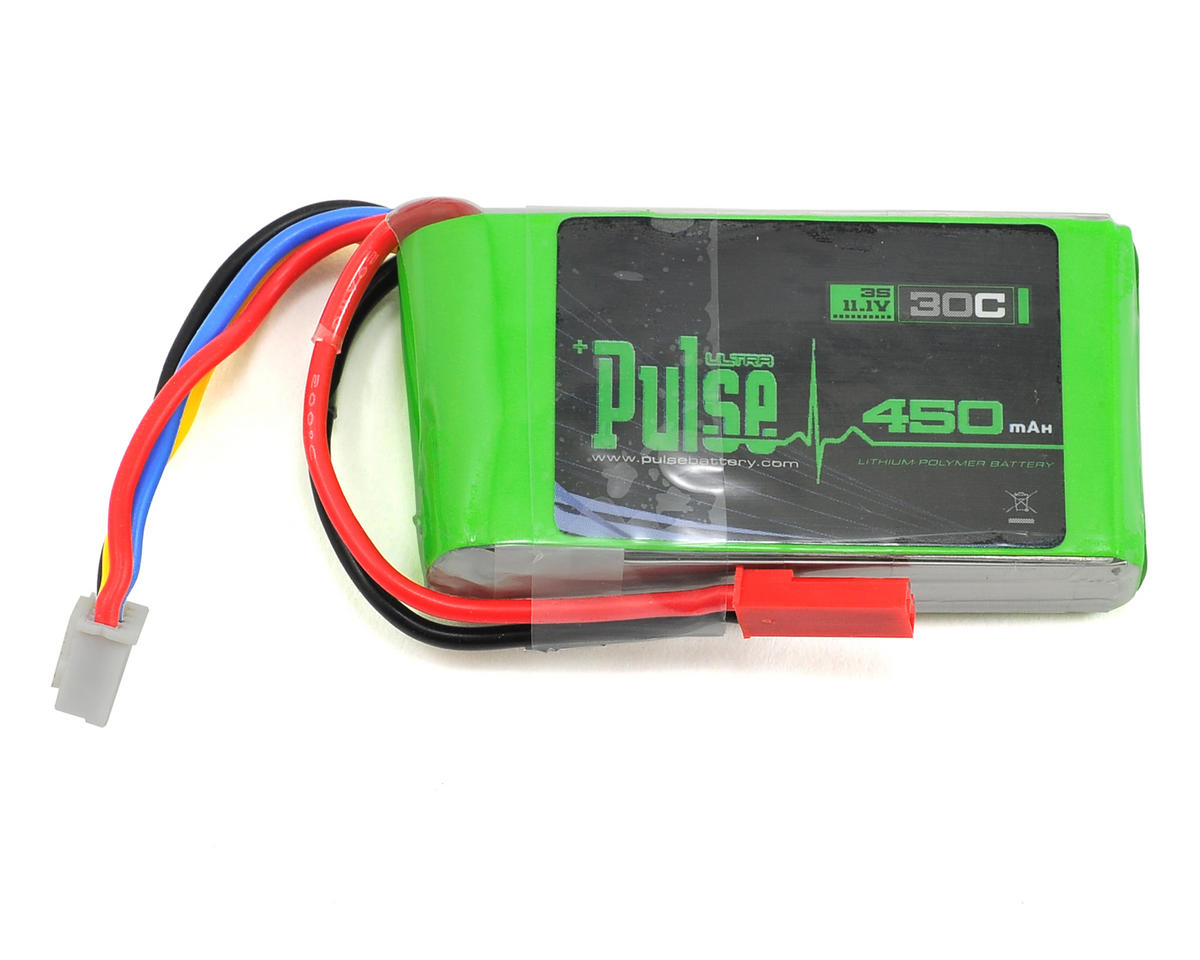 PULSE Ultra Power Series 3S LiPo Battery 30C (11.1V/450mAh)