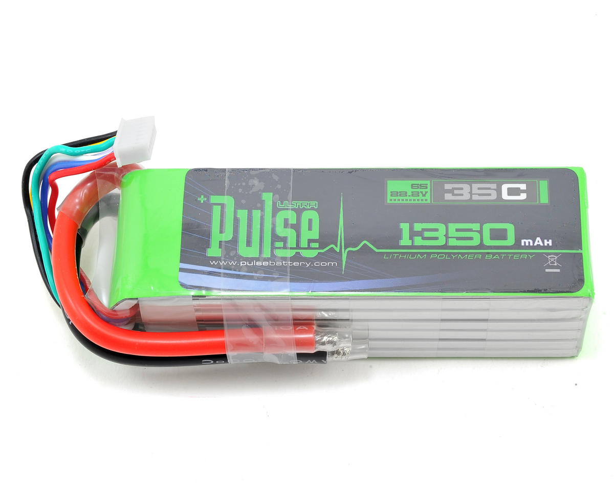 PULSE Ultra Power Series 6S LiPo Battery 35C (22.2V/1350mAh) (MS Heli Protos 380)