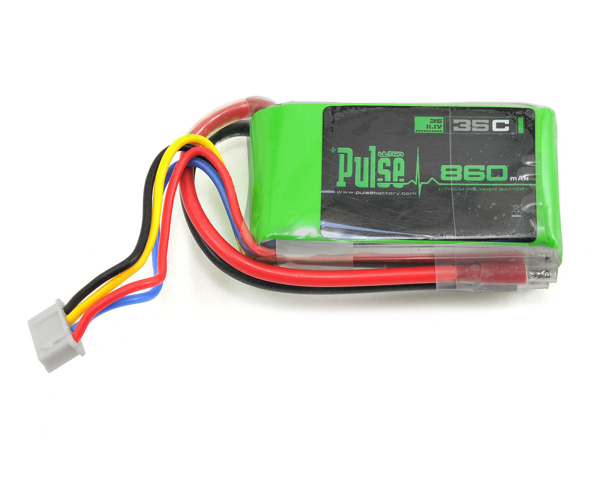 PULSE Ultra Power Series 3S LiPo Battery Pack 35C (11.1V/860mAh)