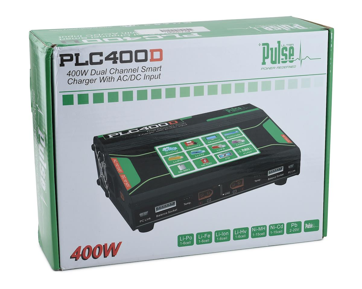 PULSE Ultra PLC400D AC/DC Multi-Chemistry Battery Charger (6S/20A/200W x2)