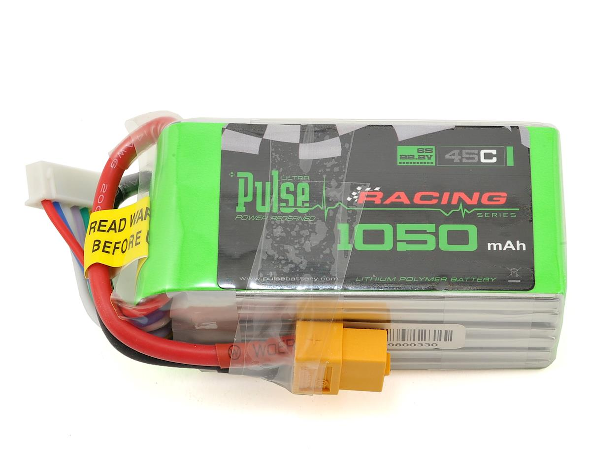 PULSE Racing Series 6S LiPo Battery 45C (22.2V/1050mAh) (SAB Goblin Mini Comet 280)