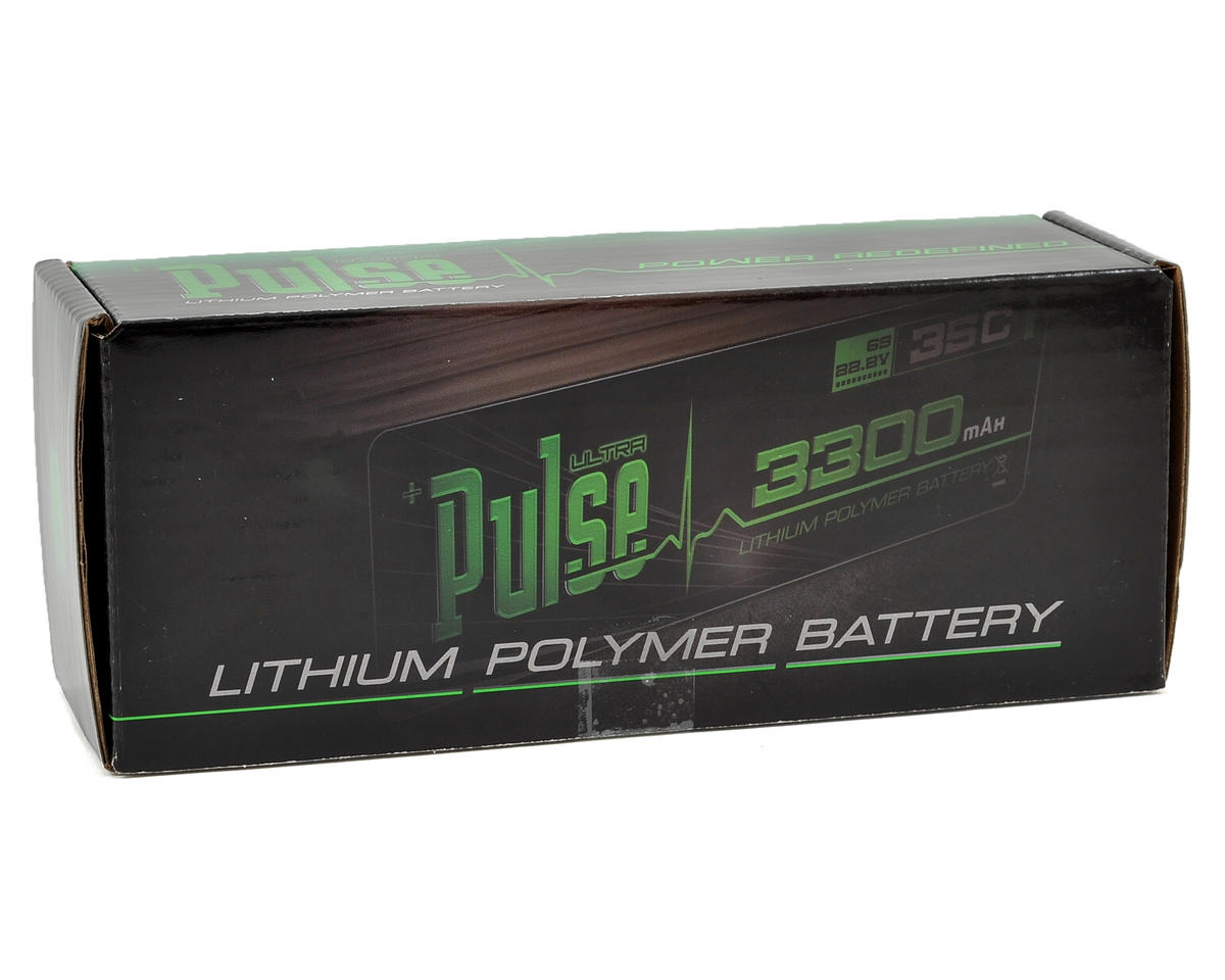 PULSE Ultra Power Series 6S LiPo Battery Pack 45C (22.2V/3700mAh)