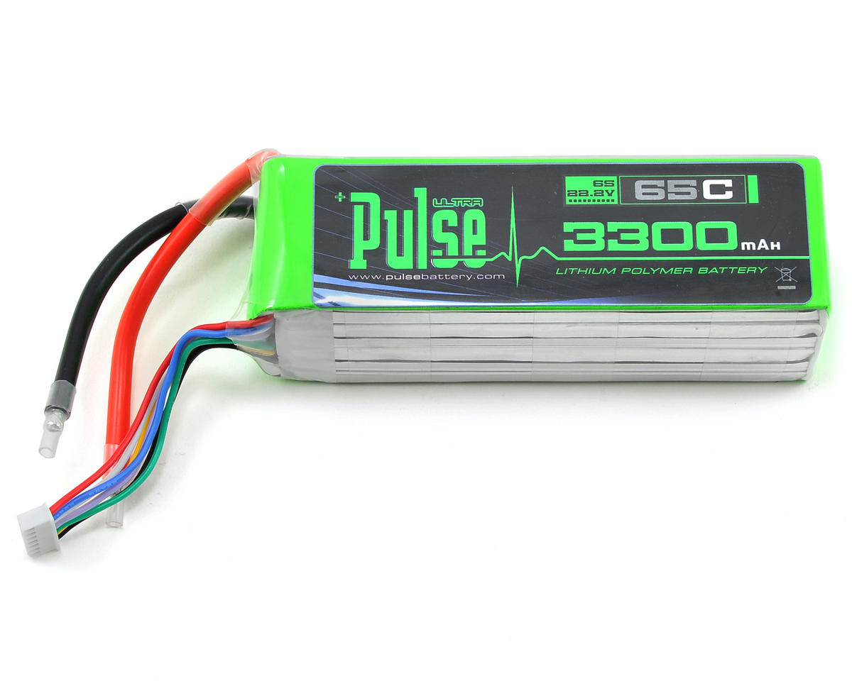 PULSE Ultra Power Series 6S LiPo Battery Pack 65C (22.2V/3300mAh)