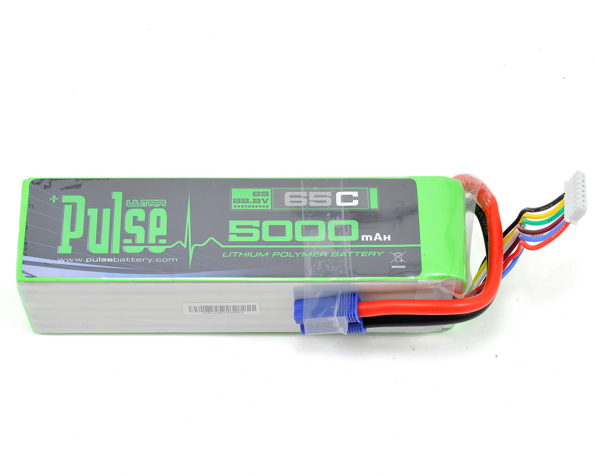 PULSE Ultra Power Series 6S LiPo Battery 65C (22.2V/5000mAh) (Arrma Kraton BLX)