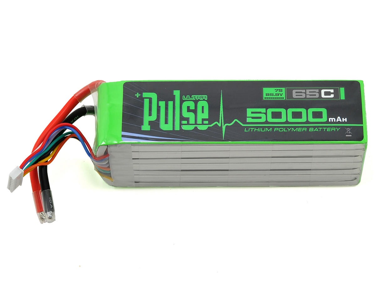 PULSE Ultra Power Series 7S LiPo Battery Pack 65C (25.9V/5000mAh)