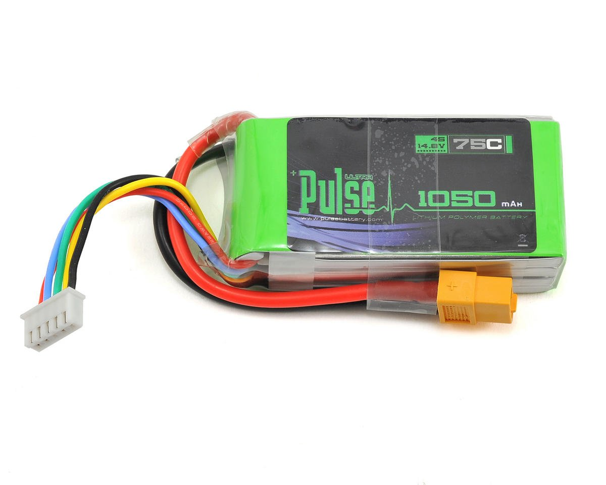 PULSE Ultra Power Series 4S LiPo Battery 75C (14.8V/1050mAh)
