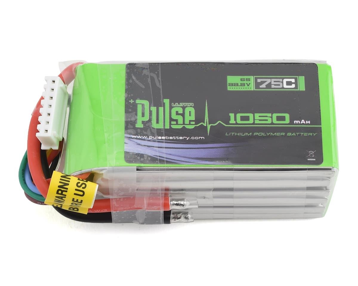 PULSE Racing Series 6S LiPo Battery Pack 75C (22.2V/1050mAh)