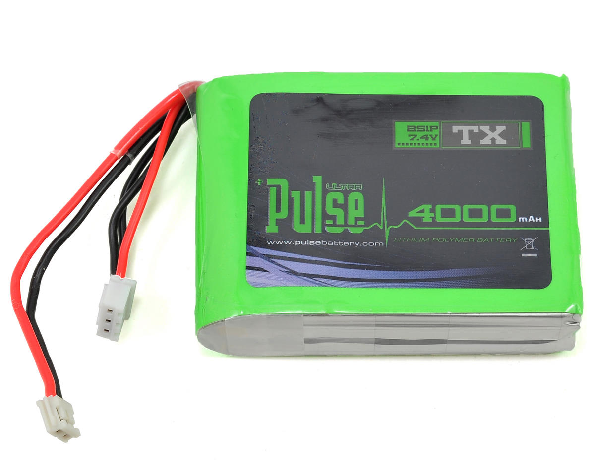 PULSE Ultra Power Series DX7S/DX8/DX9 Transmitter Battery (7.4V/4000mAh)