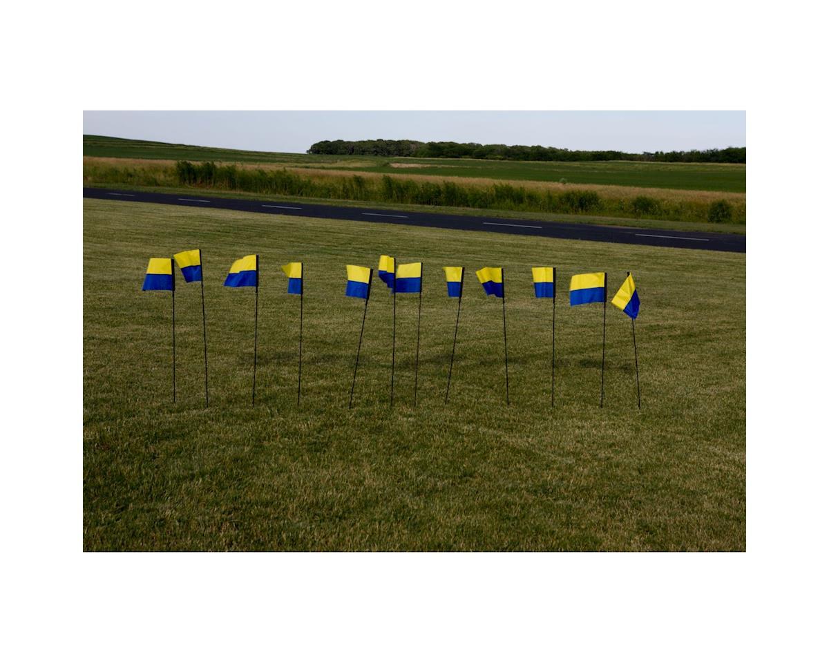 "Premier Kites 8x12x44"" FPV Line Markers (12); Horizon Logo"