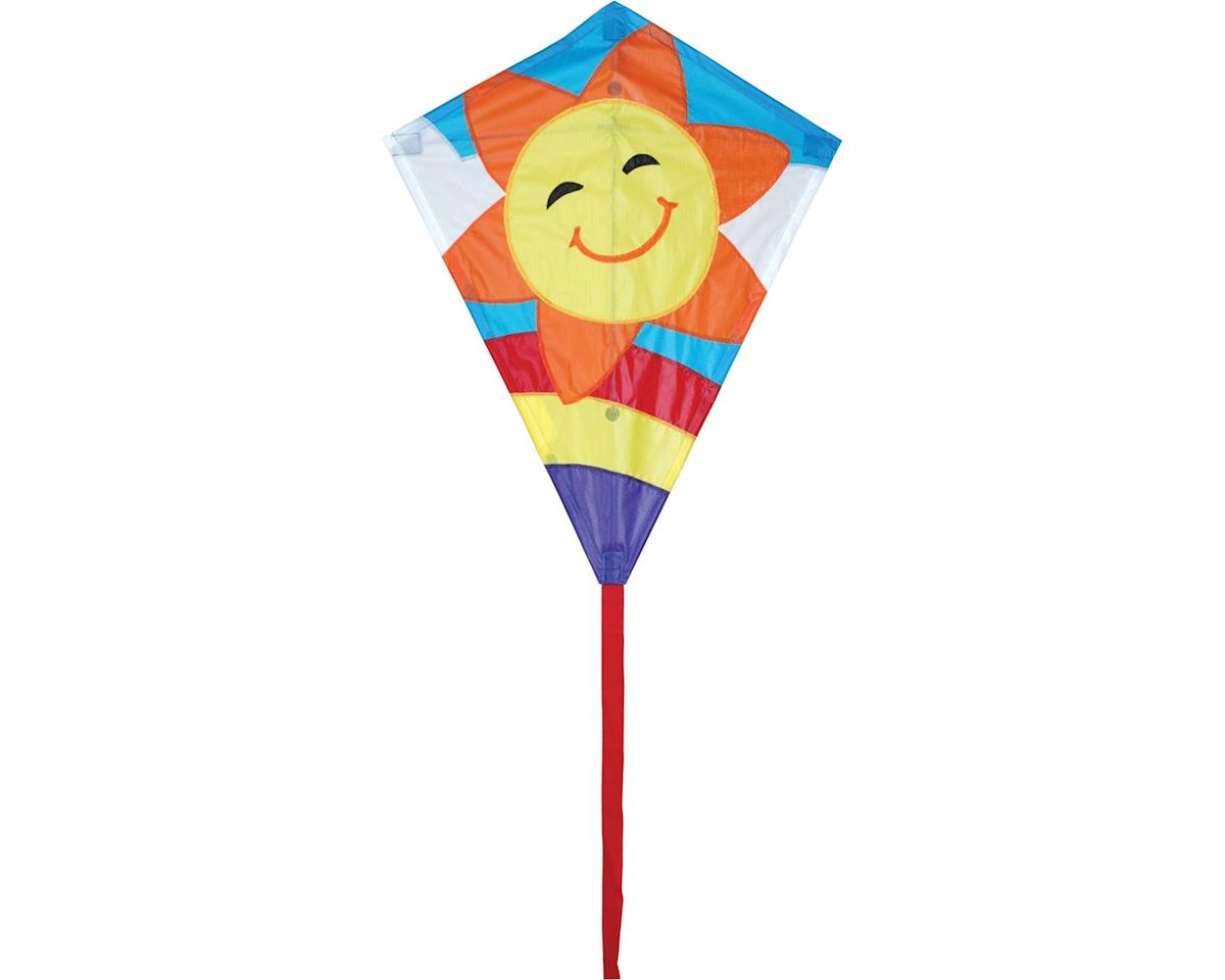 "Premier Kites Diamond, Smiley Sun 20"" x 25"""
