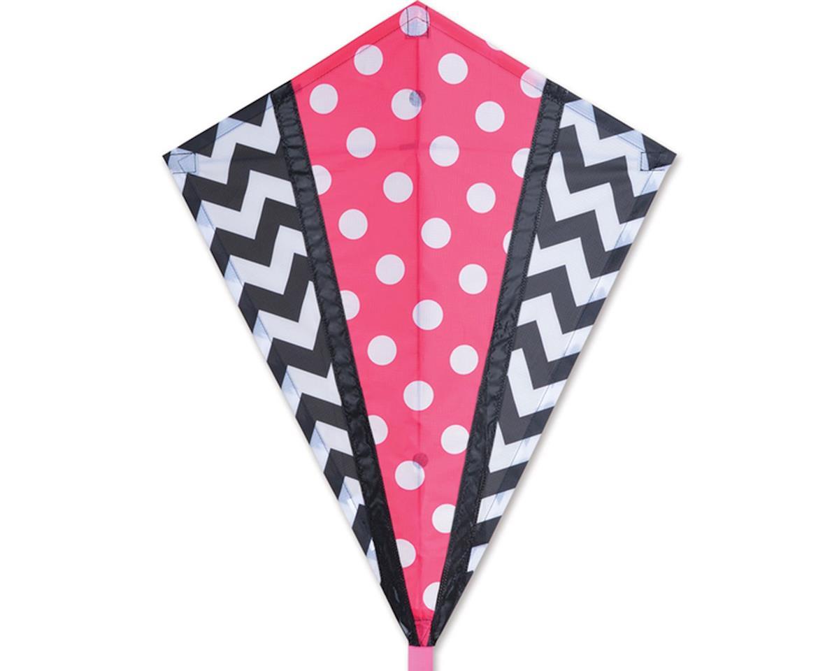 Premier Kites 25 IN. DIAMOND - PINK MOD