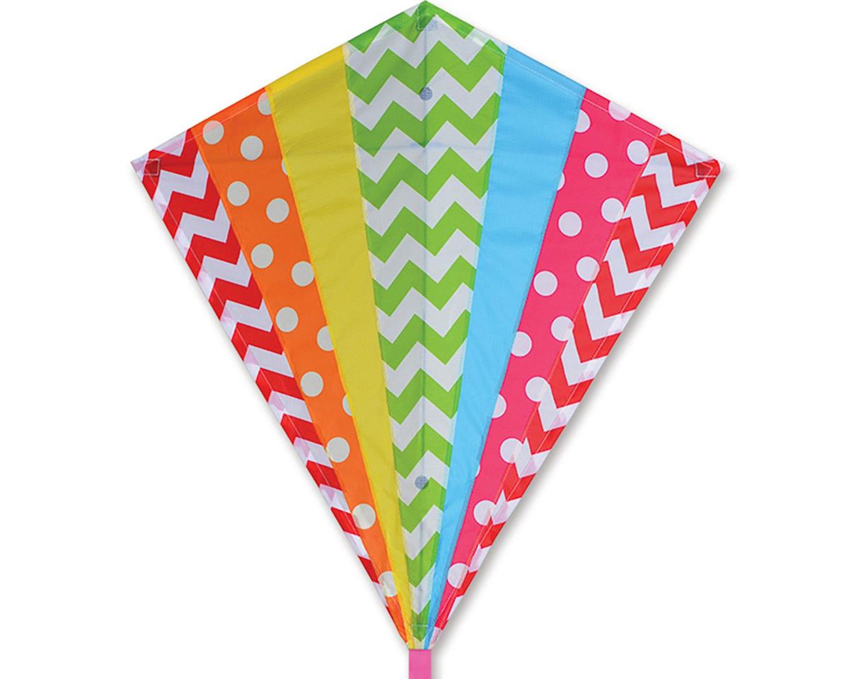 30 IN. DIAMOND - HIP RAINBOW by Premier Kites