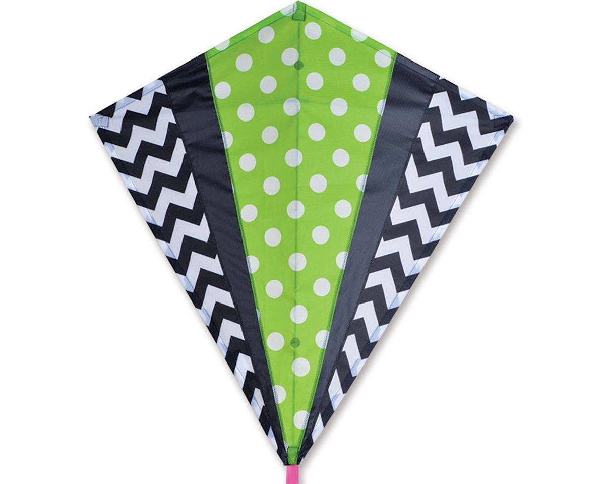 Premier Kites 30 IN. DIAMOND - GREEN MOD