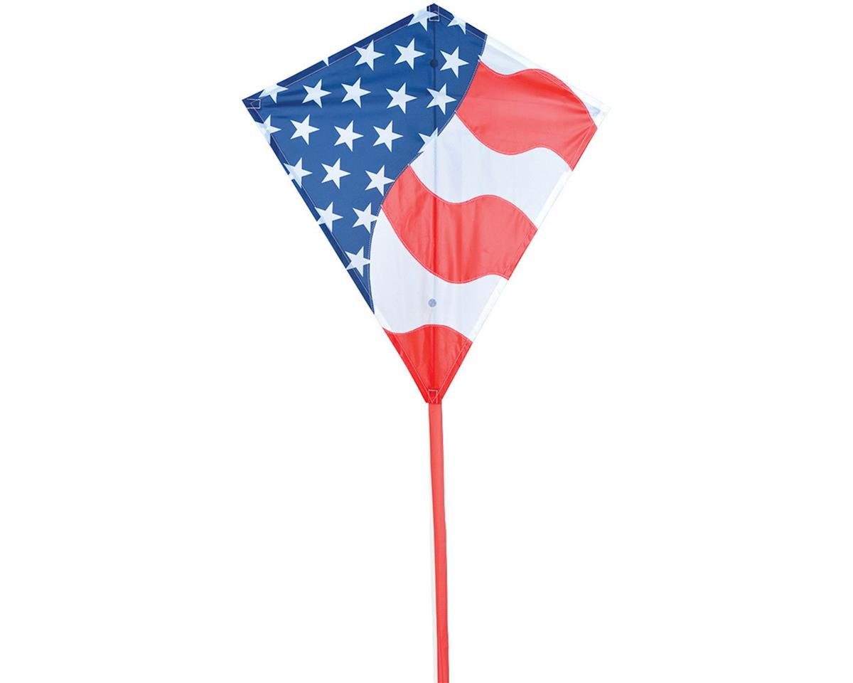 Premier Kites 30 IN. DIAMOND - STARS & STRIPES