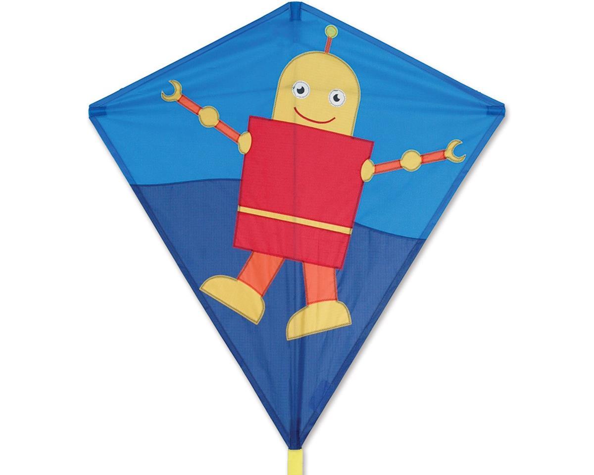 Premier Kites 30 IN. DIAMOND - HAPPY ROBOT