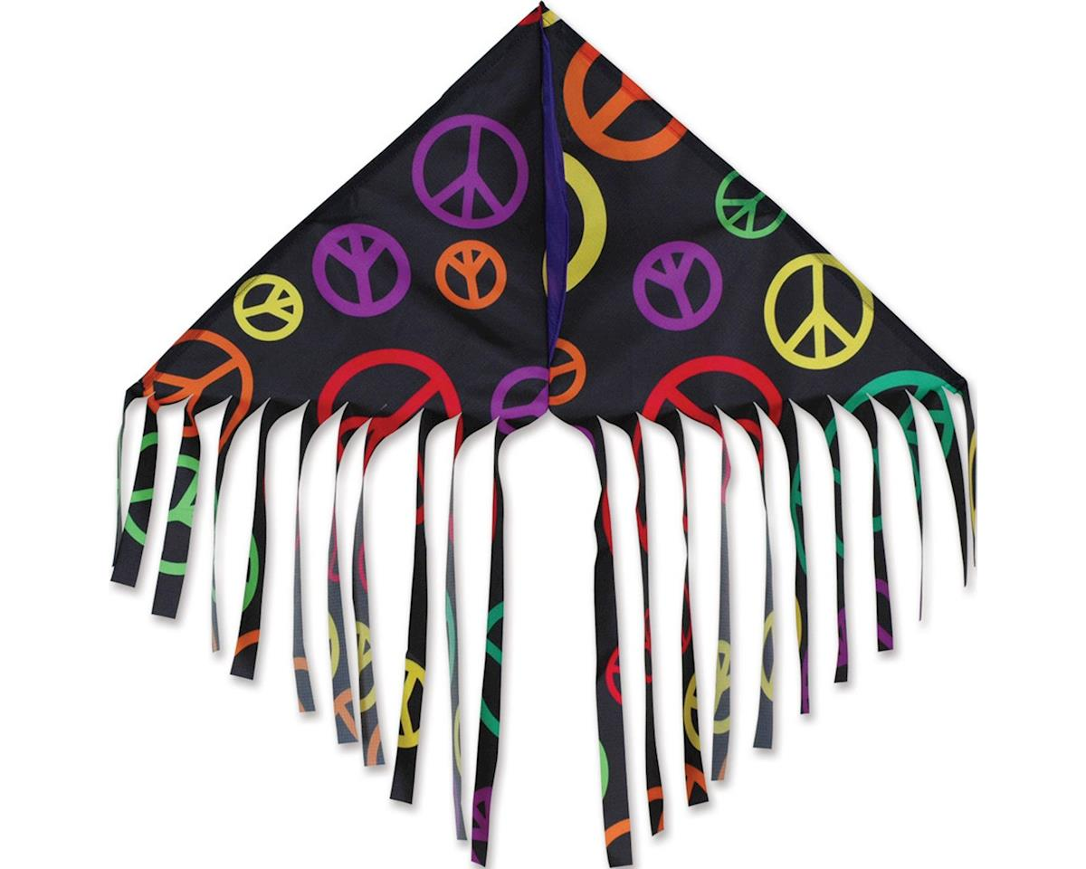 Premier Kites FRINGE DELTA - BLACK PEACE