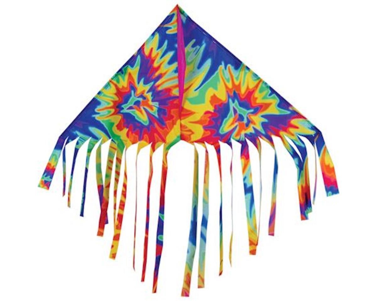 "Premier Kites Fun Flyer, Fringe Delta, Tie Dye 32""x14"""