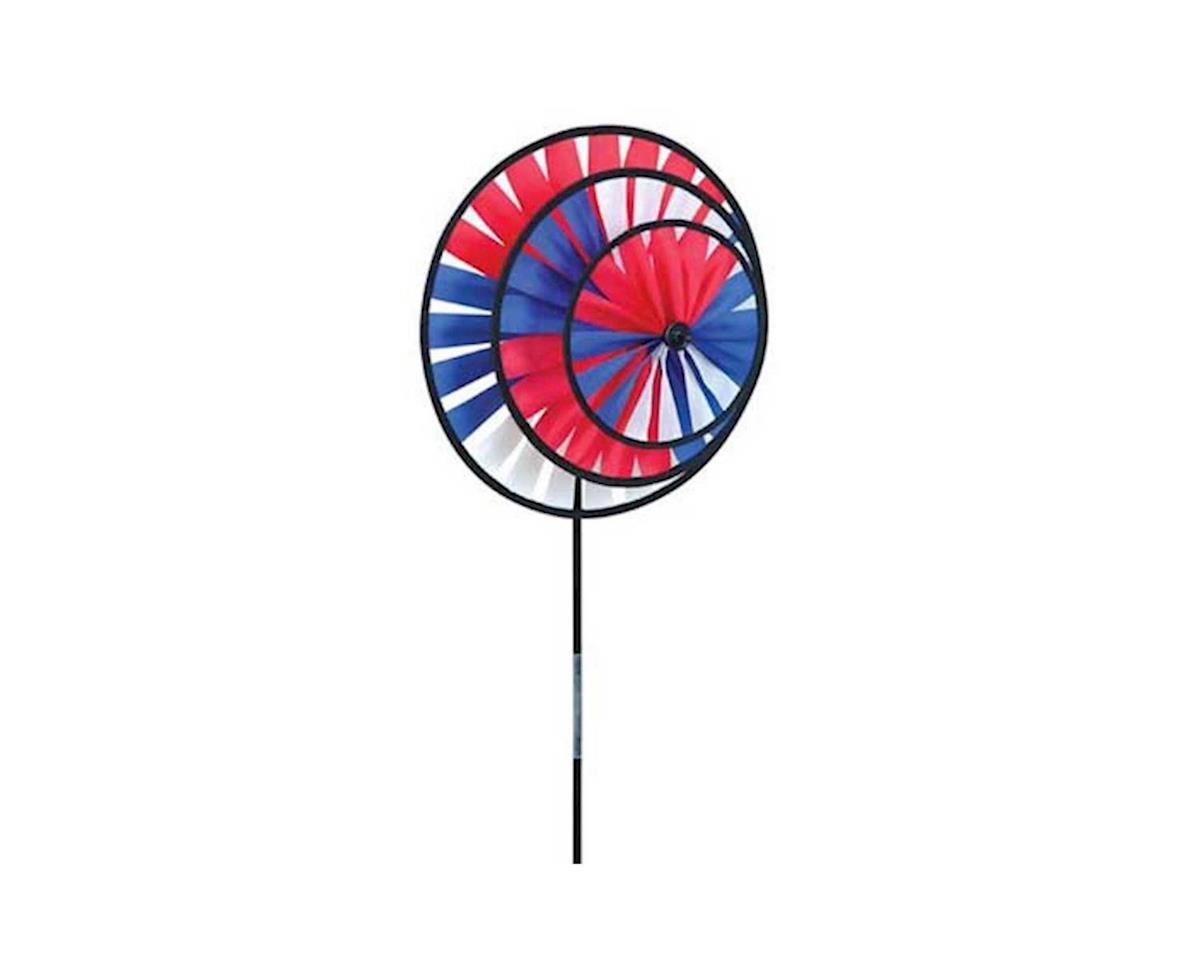 Premier Kites Bold Innovations-Patriotic Triple Wheel Spinner