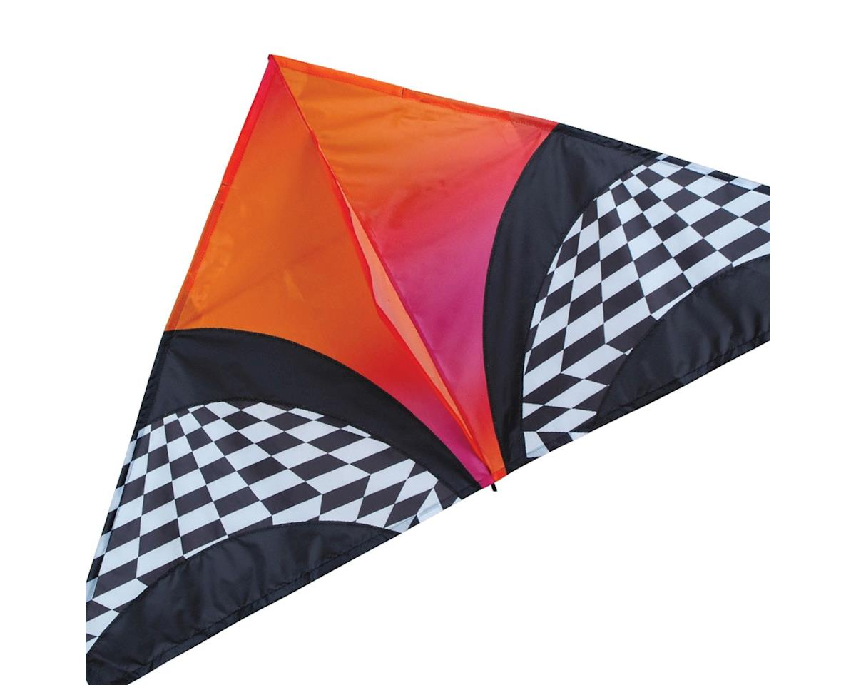 "Premier Kites 56"" Delta Orange Op-Art"