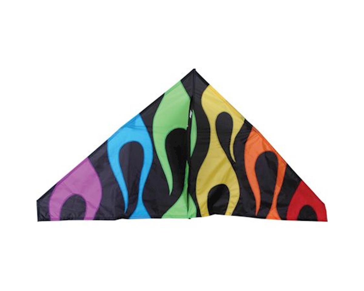 "56"" Delta, Rainbow Flames by Premier Kites"