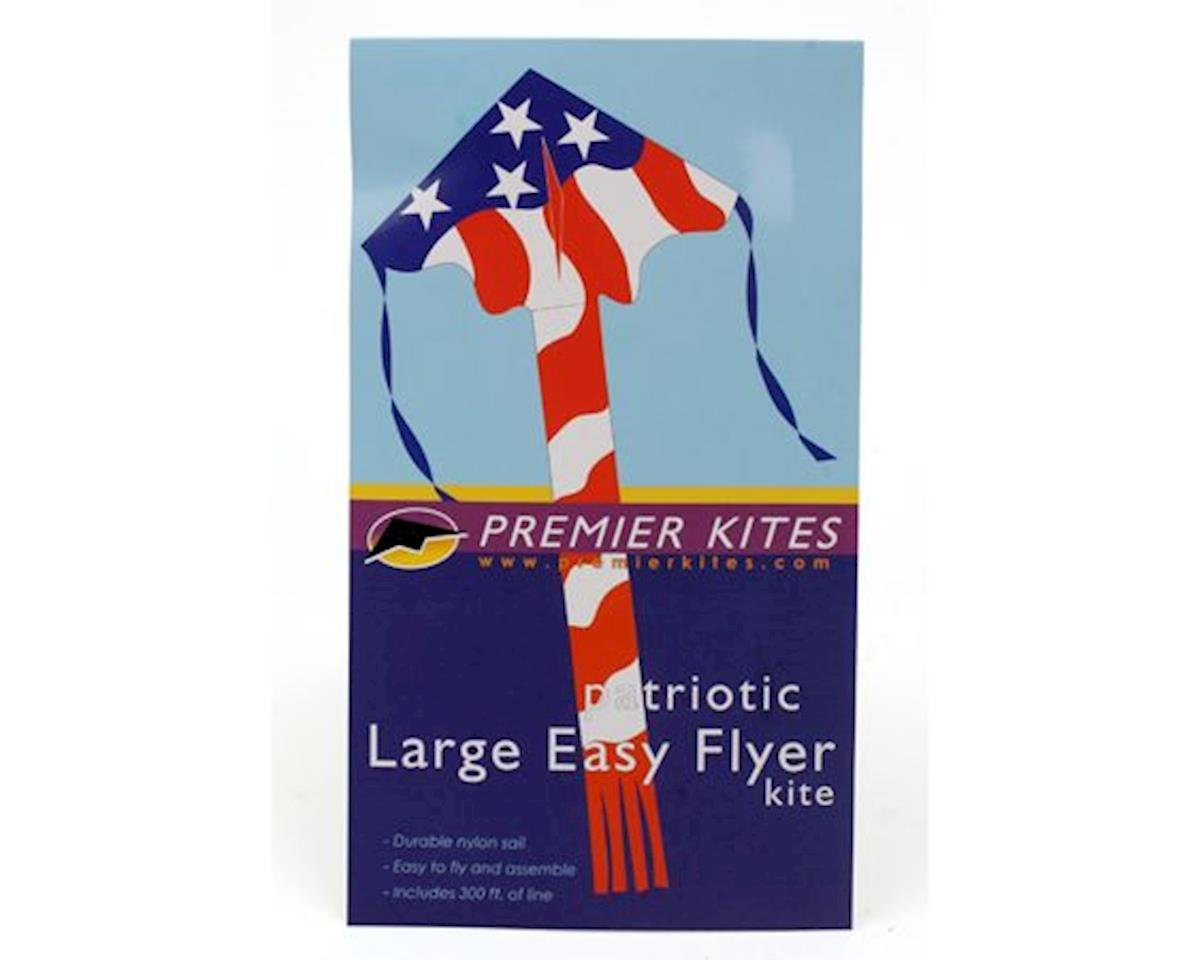 "Premier Kites Large Easy Flyer, Patriotic, 46"" x 90"""