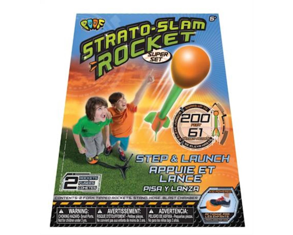 Strato Slam Stomp Rocket Super Set by Poof Products