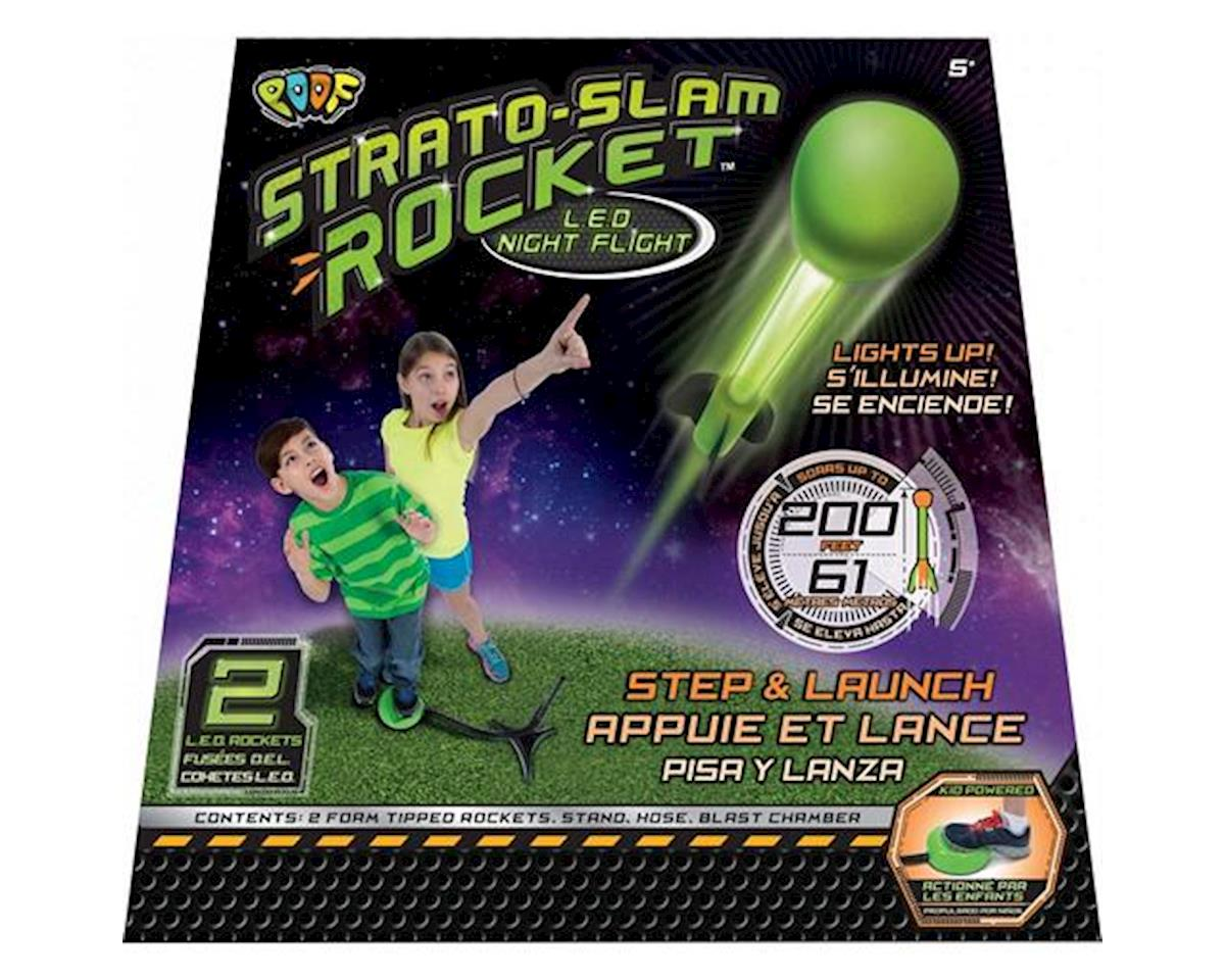 Poof Products POOF 2174TL Strato Slam Rocket LED Night Flight