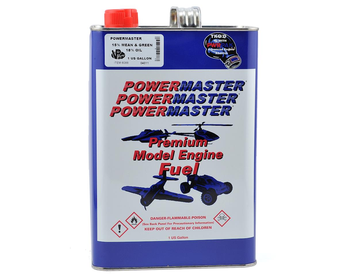 PowerMaster Mean & Green 15% Airplane Fuel (18% Synthetic Blend) (Six Gallons)